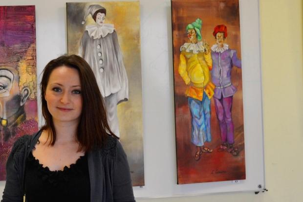 Clémence CARUANA participe au 24e Salon des Arts de Montrabé, du 28 mars au 6 Avril 2014