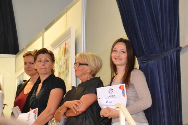 "Clémence CARUANA - Prix ""Félicitations du Jury"" au Salon de Balma, Juin 2015"