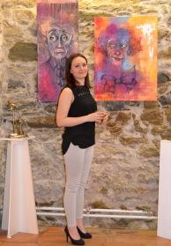 Clémence CARUANA au 47e Salon d'art de Castelnaudary, du 10 au 25 Mai 2014