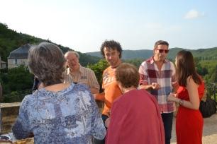 Clémence CARUANA expose à la Mairie d'Albas, du 5 au 17 Août 2014