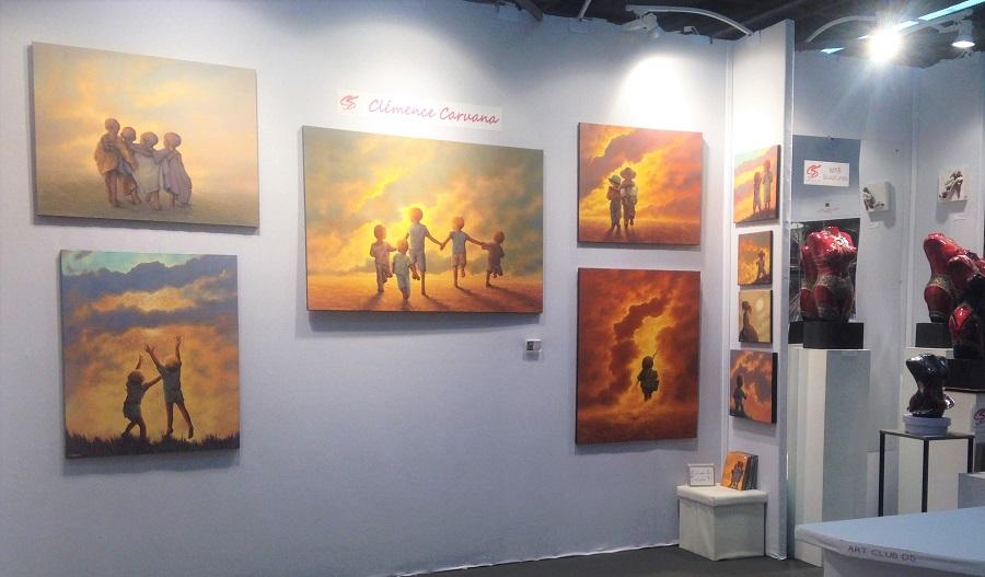 Cl mence caruana artiste peintre - Salon international d art contemporain toulouse ...