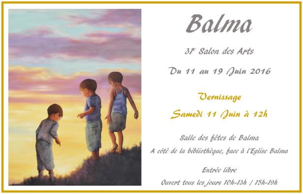 31e Salon des Arts de Balma Juin 2016