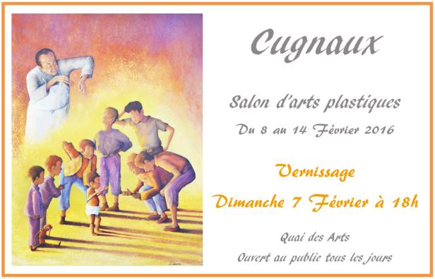Salon d'arts plastiques de Cugnaux - Février 2016