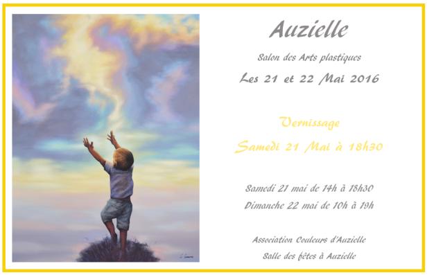 Salon des Arts plastiques à Auzielle - Mai 2016