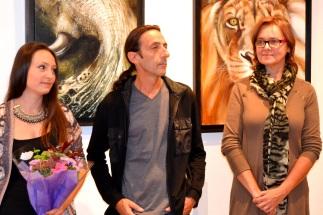 Clémence CARUANA à la galerie La Mosaïque à Saint-Jean, Octobre 2015