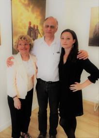 Caruana Clémence Galerie Artiempo Exposition peintures Toulouse 2017