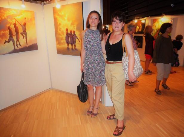 CARUANA Clémence Exposition collective Peintures Balma 2017