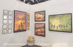 Caruana Clemence Salon art Bordeaux