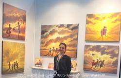 Caruana Clemence Salon art3f Haute-Savoie / Annecy - Mai 2019